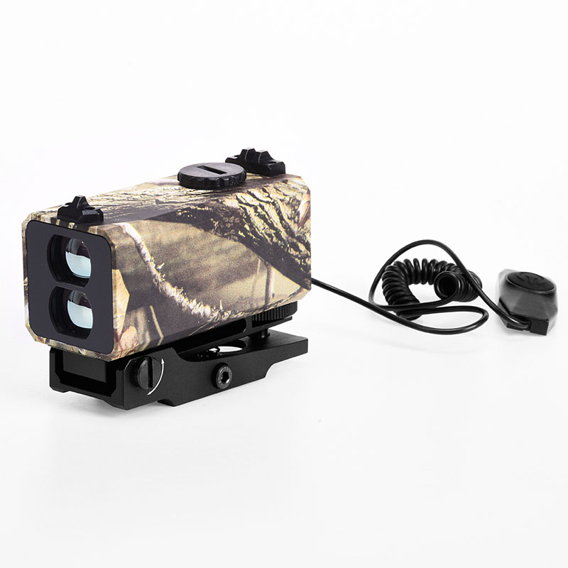 700m range finder monocular trilho montado riflescope medida distancia noite 02