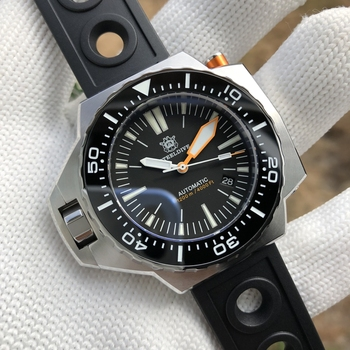 dive Steeldive SD1969 NH35 Automatic Bi-Direction Bezel Dive Watch 1200M Waterproof Dive Watch