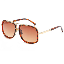 Retro Square Sunglasses Men Vintage Male Luxury Brand Sun Glasses For Metal Designer Cool Shades MIRROR Dropshipping