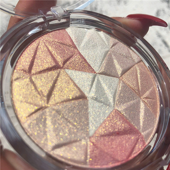 Makeup Highlighter Palette Bronzer Highlight Shimmer Glitter Face Glow Ultra-concentrated illuminator Body Glitter Brighten Skin недорого