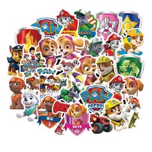 50pcs dog PAW patrol stickers PVC graffiti stickers travel case luggage car stickers waterproof 56pcs waterproof sunscreen pvc retro decal labels funny removable car fridge luggage suitcase travel graffiti stickers