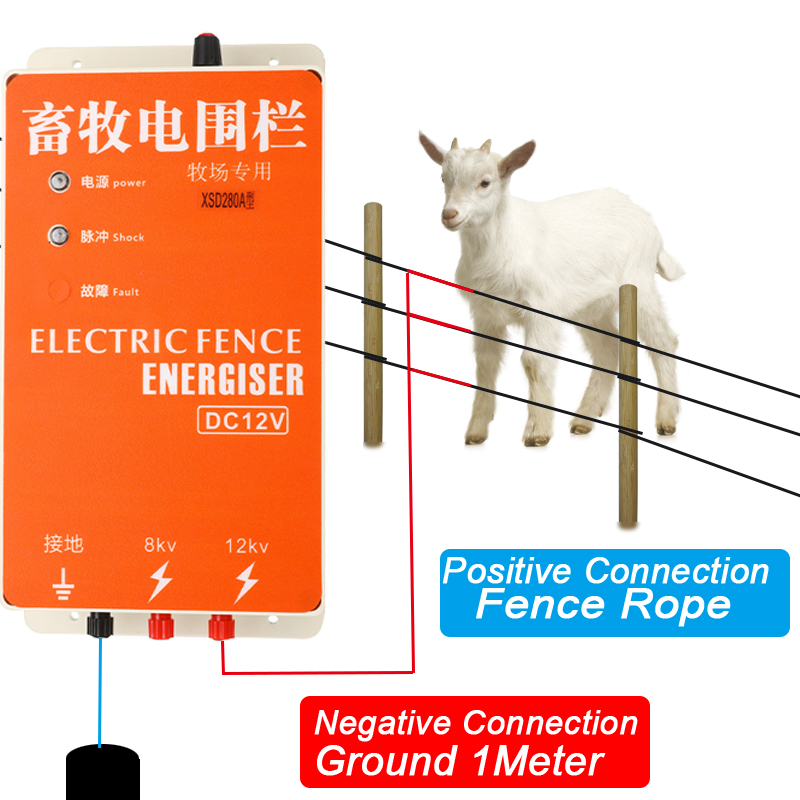 Farmily Multi Light Electric Fence Voltage Tester for Horse and Livestock Fen...