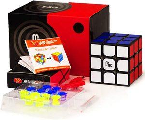 Image 1 - Yj Mgc 2 Cubo Magico V2 3x3x3 Elite prędkość cięcia GAN 356 powietrza profesjonalna magiczna kostka Puzzle magnetyczne