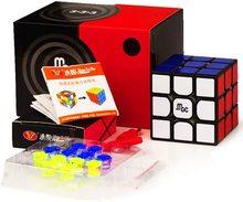 Yj mgc 2 cubo magico v2 3x3x3 elite cubing velocidade gan 356 ar profissional cubo mágico quebra cabeça magnética