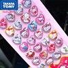 TAKARA TOMY Fashion Three-dimensional 3D Crystal Diamond Sticker Cute Cartoon Hello Kitty Decorative Sticker
