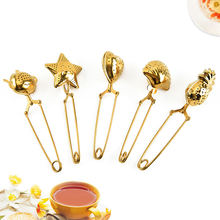 Напитки & art Чай infuser Творческий золотой фильтр для Нержавеющаясталь