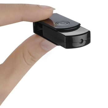 1080P HD videocámara detección de movimiento IR visión nocturna Cam Mini DV DVR U disco cámara USB