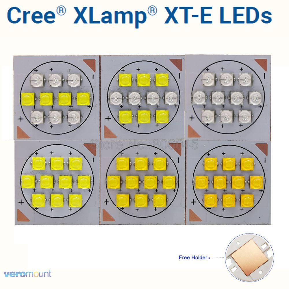 Cree XTE 10 LED Intergrated Light Source XT-E Cool White Neutral White Royal Blue Or Mixed Color DIY LED Light DC30-36V 1500mA