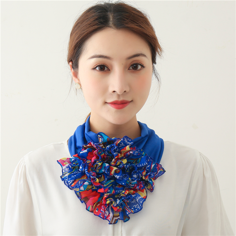 Silk Scarf Neck Collar Turban Lady Hair Scarves Fashion Female Bandana Luxury Brand Designer Headband Headkerchief Accessories