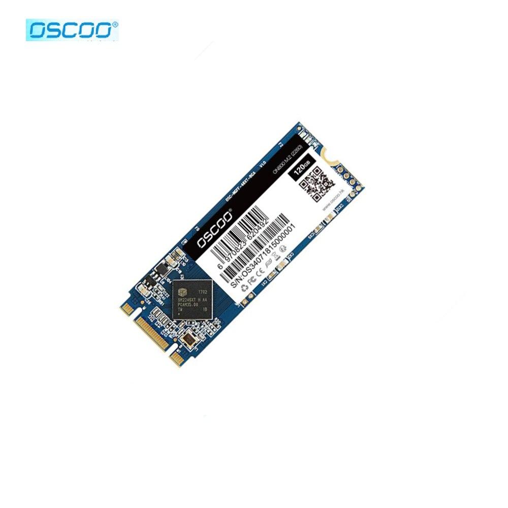 Твердотельный накопитель Oscoo M2 SSD128gb 120gb Размер 2260 SSD M.2 SATA 120GB 240 GB 500GB HDD M2 NGFF SSD 2280 мм HDD жесткий диск для компьютера ноутбука