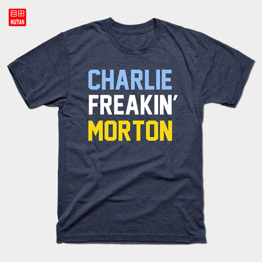 charlie freakin morton t shirt sports usa support america love family funny charlie morton american baseball player t shirts aliexpress aliexpress