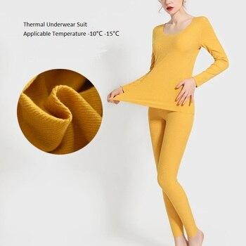 Комплекты термобелья, Женские кальсоны, зимняя теплая одежда из теплой ткани, супермягкое нижнее белье из модала, размеры XXL