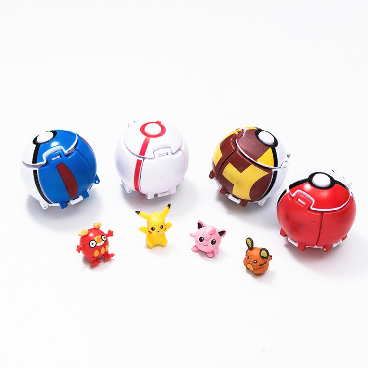 anime-ball-font-b-pokemon-b-font-pikachu-pocket-monsters-toy-bulbasaur-cartoon-cute-toy-cosplay-props-costumes-accessories