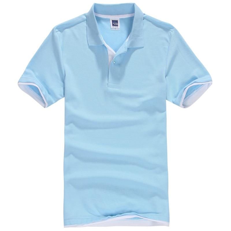 Men Shirts For Men Cotton Short Sleeve Shirt Brand Pop Clothes Jerseys Golftennis Plus Size XS 2XL Homme Blusas