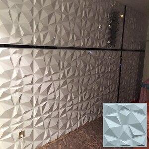 Новая 3D настенная панель Современный домашний декор, огнестойкая пластиковая доска, наклейка водонепроницаемая настенная наклейка украше...