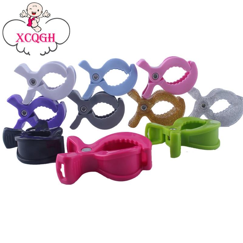 XCQGH 3PCS Baby Stroller Clip Baby Anti-kick Multi-purpose Clip Baby Blanket Strong Clip Baby Stroller Clip