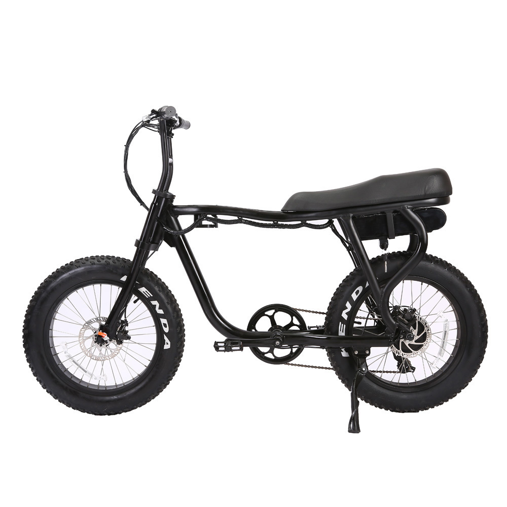 ATV <font><b>V</b></font>-B08MSuper High Quality Super fat tire Electric Bike <font><b>1000</b></font> <font><b>W</b></font> 2 Seat Electric Bicycle image