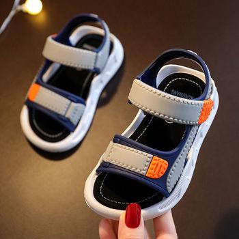2021 dziecięce letnie chłopięce skórzane sandały dziecięce buty dziecięce płaskie dziecięce buty na plażę sportowe miękkie antypoślizgowe sandały na co dzień malucha tanie i dobre opinie 13-24m 25-36m 4-6y 7-12y 14 5cm 15cm 16cm 17cm 17 5cm 18cm 18 5cm 19cm 19 5cm 20cm 20 5cm 21cm 21 5cm CN (pochodzenie) Lato