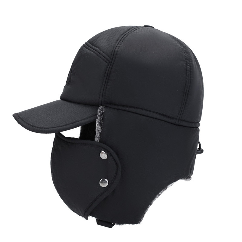 Unisex Ear and Face Protection Hat