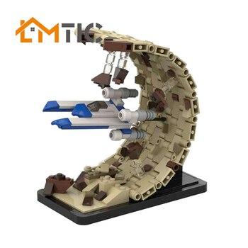 MOC Es Ist Kein Horizon! Flucht Aus Jedha - Micro UWing - Rogue Einem Bausteine Diy 377 stücke Spielzeug Ziegel Weihnachten Geschenk Für Kinder