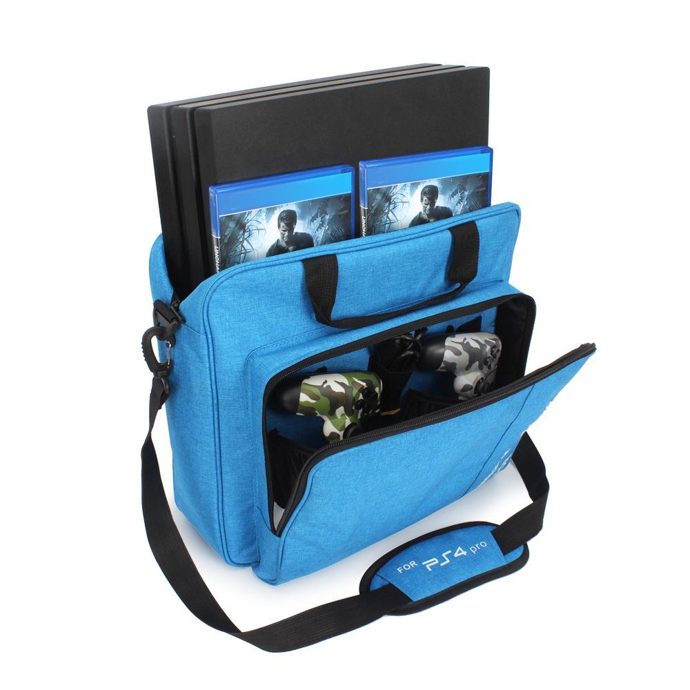 new For PS4 PS4 Pro Slim Game Sytem Bag Original size For PlayStation 4 Console Protect