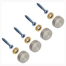 4 Pcs 16mm Stainless Steel Caps Decorative Mirror Nails Best quality