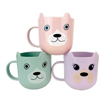 Washing Cup Suspended Home Cute Cartoon Plastic Mouth Brushing Simple Fashion toothbrush holder cup