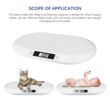 Electronic Digital Baby Pet Scale Infant Pet Weighing Scales Small Animal Kittens Puppy Rabbits  Display Measure Tool