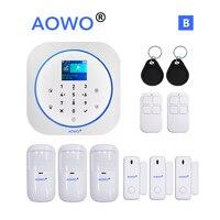 WiFi Tuya Alarm Alexa для домашней безопасности с Google Home Hub APP Голосовое управление IP камера контроль вторжений RFID LCD Touch