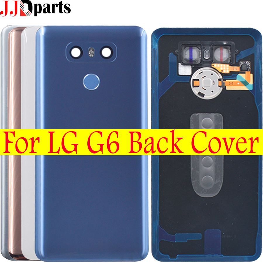 Battery Cover For LG G6 Back Cover Glass H870 H870DS H871 H872 H873 LS993 US997 VS998 Door Case Rear Housing +Repair