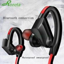 Roreta K98 אלחוטי אוזניות Bluetooth אוזניות ספורט ריצה אלחוטי סטריאו Bluetooth אוזניות עם micr עבור אנדרואיד IOS
