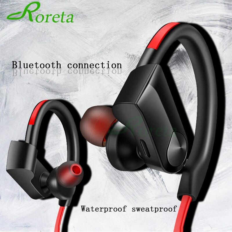 Беспроводные наушники Roreta K98, Bluetooth наушники для спорта и бега, Беспроводная стереогарнитура Bluetooth с микрофоном для Android и IOS Наушники и гарнитуры      АлиЭкспресс