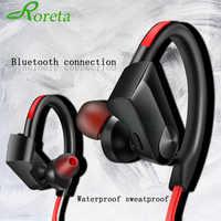 Roreta K98 Cuffie Senza Fili Auricolare Bluetooth di Sport Corsa e Jogging Stereo Senza Fili Auricolare Bluetooth con micr Per Android IOS