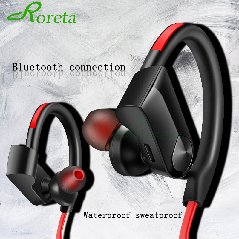 Roreta K98 Wireless Headphones Bluetooth Earphone Sport Running Wireless Stereo Bluetooth Headset With Micr For Android IOS