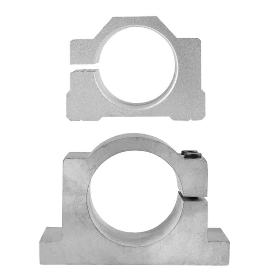 מכונת חריטת סוגר מלחציים 52/65mm יצוק אלומיניום ציר מנוע הר Bracket חוסמי CNC חריטת מכונת