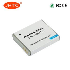 JHTC 1600mAh NB 6L NB6L Battery for Canon Power-shot Camera SX520 HS SX530 SX600 SX610 SX700 SX710 IXUS 85 95 200 210 105