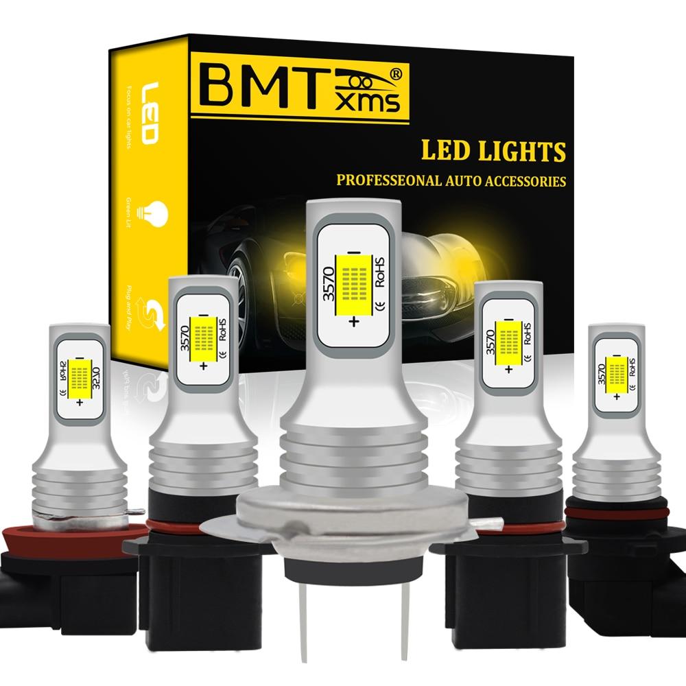 BMT 2x Canbus h27w/2 p13w светодиодный DRL противотуманный фонарь Canbus лампа PSX24W PSX26W светодиодный H1 H7 H3 H8 H11 H8 5202 H16 HB4 HB3 9005 9006 автомобильный светильник осв...
