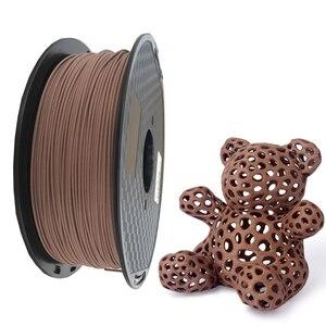 Image 2 - PLA Filament 1.75mm Wood Pla Filaments 3D Printer Non toxic 500g/250g Sublimation Supplies Wooden Effect 3D Printing Materials