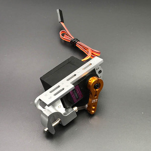 Image 5 - Servo Parabolic Switch Device Aerial Vehicle Throw Device Tarot Dispensers With Servo Arm For Remote Controller Cars Drone MG996