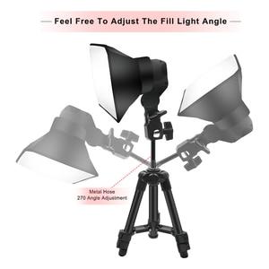 Image 3 - Softbox Light Kit  Shooting Led Lamp Fill Light Studio Light Camera Lighting For Photo Professional Studio Video