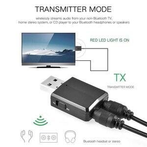 Image 4 - VIKEFON بلوتوث استقبال الارسال بلوتوث ستيريو صغير 5.0 الصوت AUX RCA USB 3.5 مللي متر جاك ل TV PC سيارة عدة محول لاسلكي