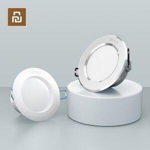 Image 1 - Xiaomi OPPLE LED Downlight 3W 120 Derece Yuvarlak Gömme Lamba Sıcak/serin beyaz LED ampul Yatak Odası Mutfak Kapalı LED Spot Aydınlatma