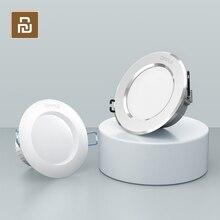 Светодиодный светильник Youpini ople, 3 Вт, 120 градусов, Круглый, встраиваемый, теплый/холодный белый, светодиодный, для спальни, кухни, для помещения, точечное освещение