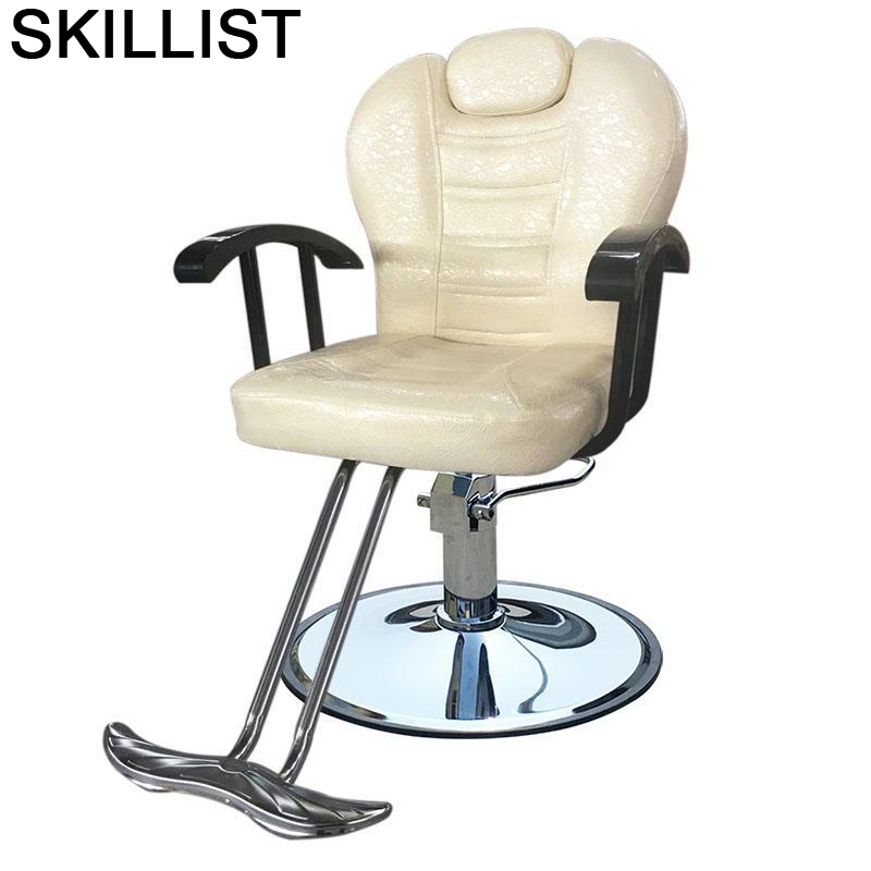 Stuhl Chaise Makeup Furniture Schoonheidssalon Mueble De Belleza Silla Salon Cadeira Barbershop Barbearia Barber Chair