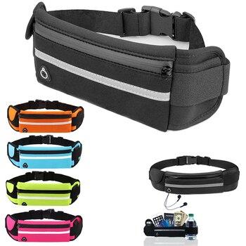Travel multifunctional Sports pocket mini fanny pack for men women Portable convenient USB waist pack waterproof phone belt bag