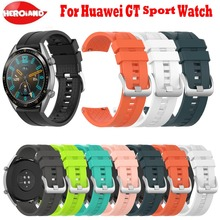 For Huawei Watch GT Strap for samsung galaxy watch 46mm silicone 22mm band smartwatch Gear S3 Frontier Bracelet
