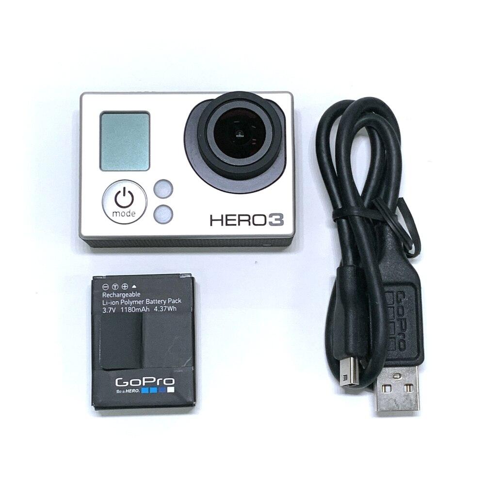 100percentOriginal For GoPro HERO3 Hero 3 Silver Edition Adventure Camera Battery  charging data cable 95percentnew