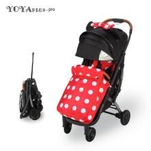 Yoya Plus Pro lekki wózek dziecięcy z nakładka ochronna na buty Yoyaplus Pro wózek na zimę wózek dziecięcy składany wózek podróżny tanie tanio Numer certyfikatu 0-3 M 4-6 M 7-9 M 10-12 M 13-18 M 19-24 M 2-3Y 25 kg