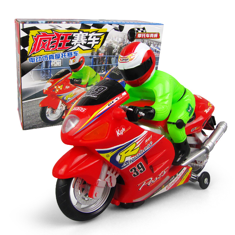 New Style Electric Toys Speed Race Car Children'S Educational Universal China Mobile Light Music Toy Night Market Stall Hot Sell