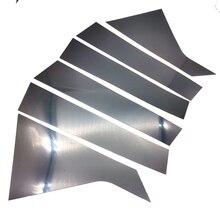 Отделка окна автомобиля Черный 6 шт для Шевроле импалы тела столб столбы 2014-2020